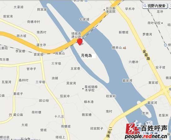 长沙望城区地图