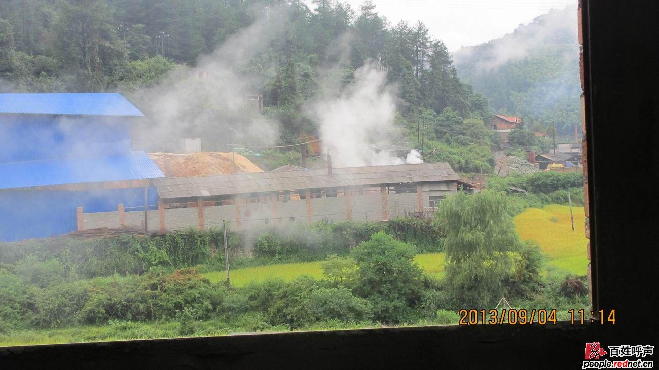 洞口县罗溪国家级森林公园有工厂排废水废气