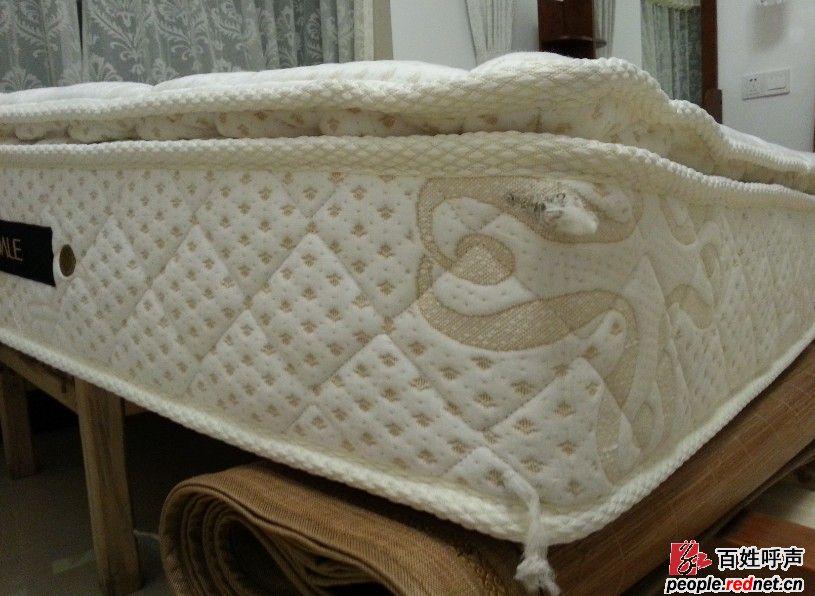 梦洁床垫收货时发现破损严重,厂家不提供售后