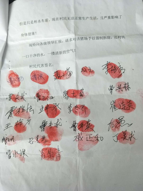 双峰杏子铺镇西亨冲王毛村养猪场严重污染环境和水源